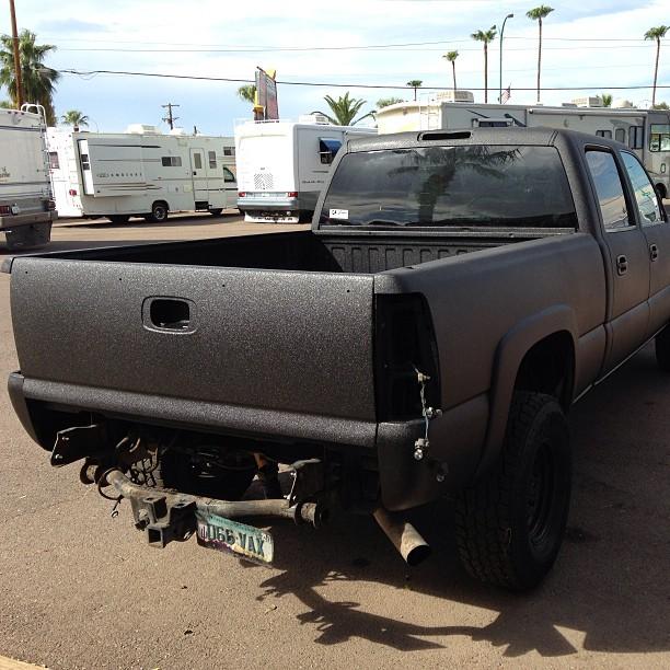 Lester Glenn Jeep >> Rear View of Full Body Duramax