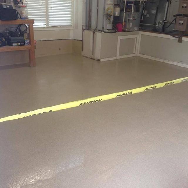 Rhino Garage Flooring : Garage floor installed with homepro