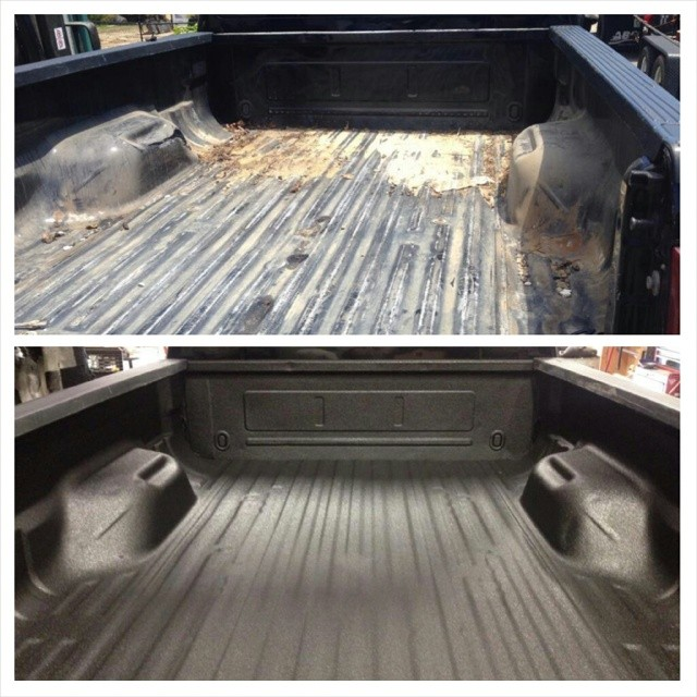 liners liner rhino selection at installed truck walker bed large gmc